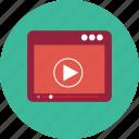 file, search, video icon icon