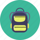 backpack, bag, travel icon icon