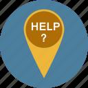 help, lifesaver, support icon icon