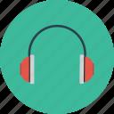 audio, headphones, support icon icon