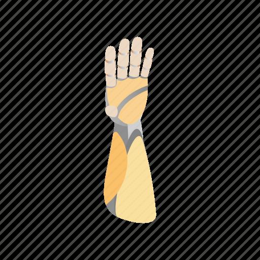 arm, futuristic, hand, isometric, machine, robot, technology icon