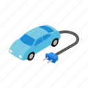 blue, car, eco, hybrid, isometric, motor, transport