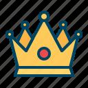 king, pride, crown, royal
