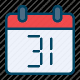 calendar, celebration, day, december, newyear icon