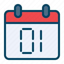 calendar, celebration, day, first, new, year icon