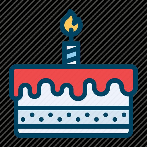 cake, celebration, day, new, year icon