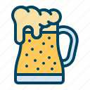 beer, glass, jar, mug, pitcher icon