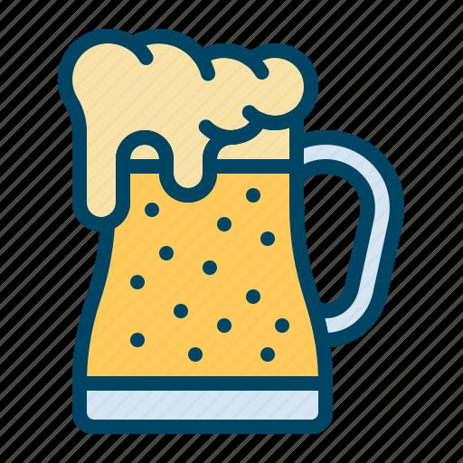 beer, glass, jar, mug, pitcher icon