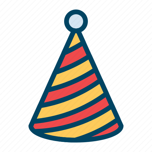 cap celebration hat newyear icon