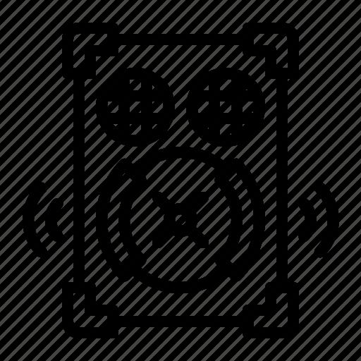 high, loud, music, sound, speaker, volume icon
