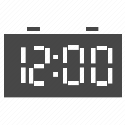 clock, countdown, new, night, time, twelve, year icon