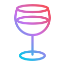 new, year, cocktail, party, leisure, straw, drinking icon