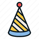 celebration, gift, holiday, new, party, year icon