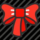 bow, christmas, new, ribbon, xmas, year