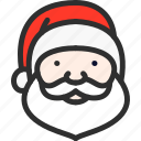 christmas, claus, hat, new, santa, xmas, year
