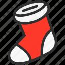 christmas, new, sock, socks, xmas, year
