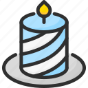 candle, christmas, light, new, xmas, year icon