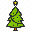 christmas, holidays, new, star, tree, xmas, year