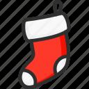 christmas, holidays, new, sock, socks, xmas, year