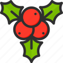 berries, berry, christmas, holidays, new, xmas, year icon