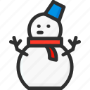 christmas, holidays, new, snow, snowman, xmas, year