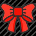 bow, christmas, holidays, new, ribbon, xmas, year