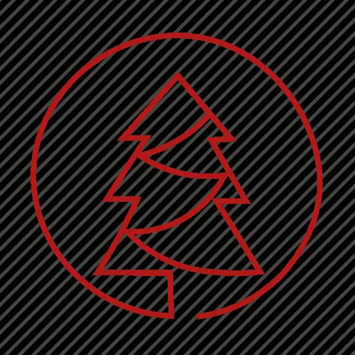 christmas-tree, fir icon