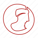 advent, christmas stocking, gifts, presents, sock icon