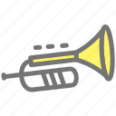 instrument, jazz, musical, player, saxophone, song icon