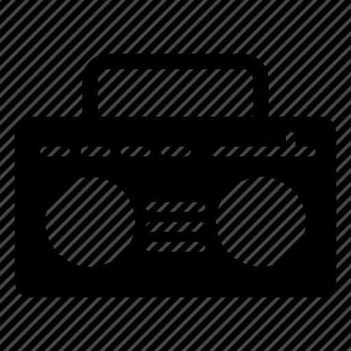 audio, device, music, radio, tape icon