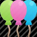 balloons, celebration, december, holidays, new years