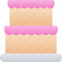 cake, december, food, holidays, new years icon