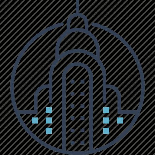 building, city, new, york icon