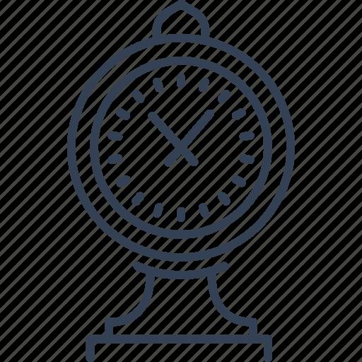 city, clock, new, york icon