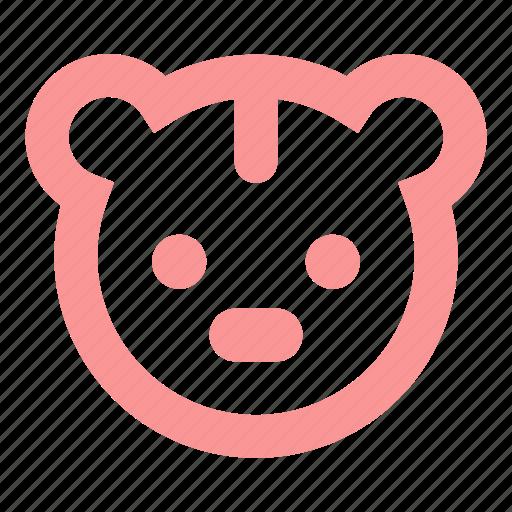 Bear, child, kid, kids, soft toy, teddy bear, toy icon - Download on Iconfinder