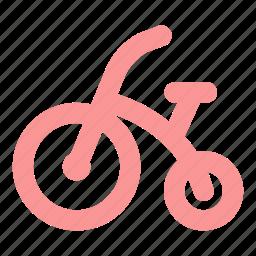 baby cycle, bike, cycle, kid, kid bicycle, kids, kids bike icon