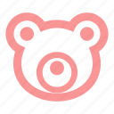 bear, child, kid, kids, soft toy, teddy bear, toy icon