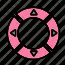 announce, call, notify, remote icon