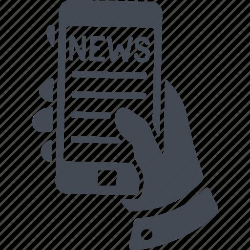 communication, media, news, social icon