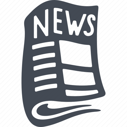 media, news, newspaper, paper icon