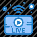 broadcasting, live, news, utube