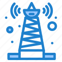 satellite, signal, technology, tower