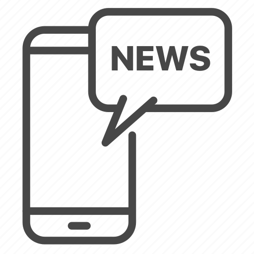 Updates News: Media, Mobile, News, Report, Update Icon