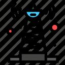satellite, signal, technology, tower icon