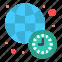 clock, international, news, time, world icon