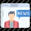 news, web