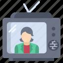 tv, news2