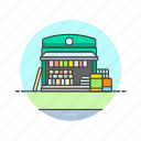 books, buy, news, read, shop, shopping, store icon