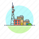 news, station, radio, building, signal, base, antenna