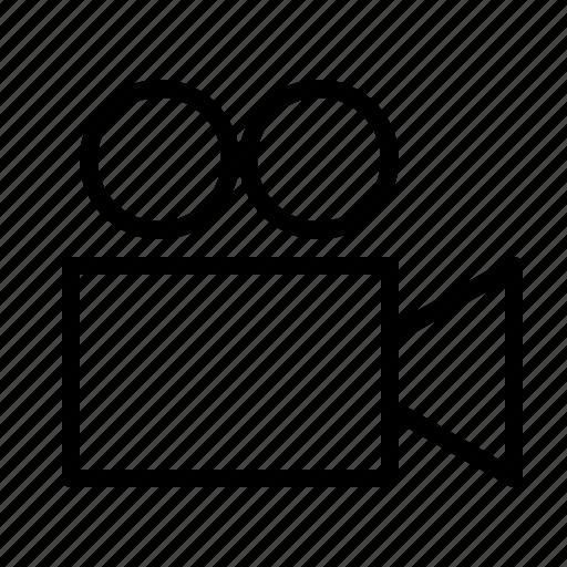 business, camera, film, information, journalist, news, report icon